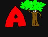 Dibujo Árbol pintado por alexfeyufd7