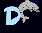 Dibujo Delfín pintado por gcwa3456vz