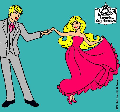 Barbie bailando