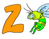 Dibujo Zangano pintado por leoelena