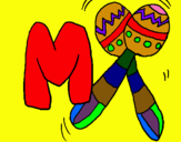 Dibujo Maracas pintado por mamajantanit
