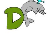 Dibujo Delfín pintado por 2005AITORROD