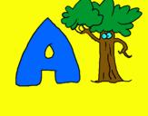 Dibujo Árbol pintado por mamajantanit