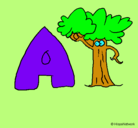 Dibujo Árbol pintado por 437ooytr55re