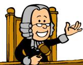 Dibujo Juez pintado por VICKYMAMA