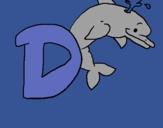 Dibujo Delfín pintado por dayanaaaaaaa
