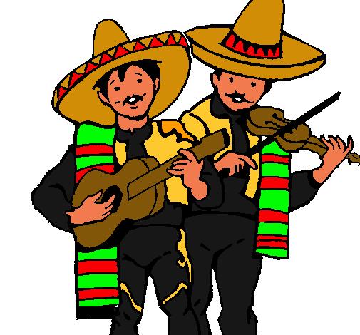 Dibujo de Mariachis pintado por Mariachi en Dibujos.net el día 26 ...