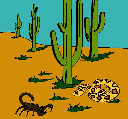 Dibujo de Desierto pintado por Cangrejito en Dibujos.net el día 03 ...