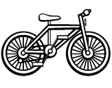 Dibujo Bicicleta pintado por miri0109