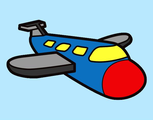 Dibujo De Mi Avion Pintado Por Marga79 En Dibujosnet El Día 26 02