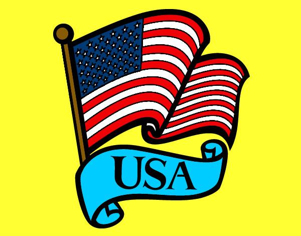 Dibujo de estados unidos pintado por diegosn en dibujos - Dibujo bandera inglesa ...