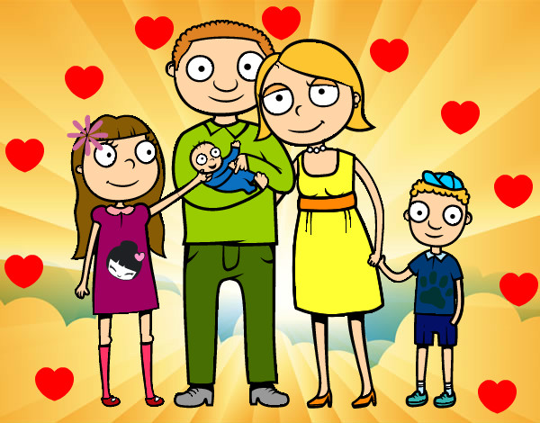 Dibujo de la familia ideal pintado por Haydesita en Dibujos.net el ...