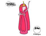 Dibujo La princesa Chicle pintado por gatita123