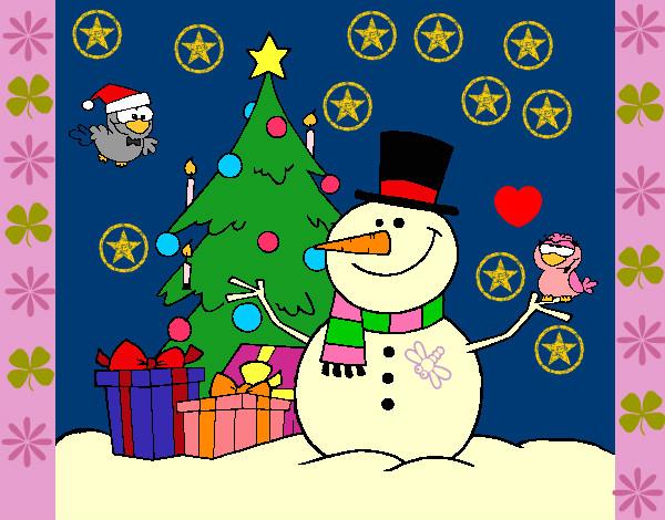 Dibujo de la navidad perfecta pintado por haydesita en for Dibujos de navidad pintados