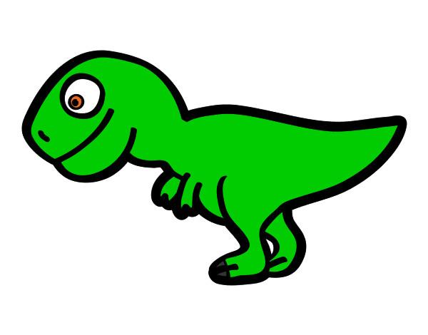Dibujo de Tiranosaurio rex joven pintado por Pablo_hm en Dibujos ...