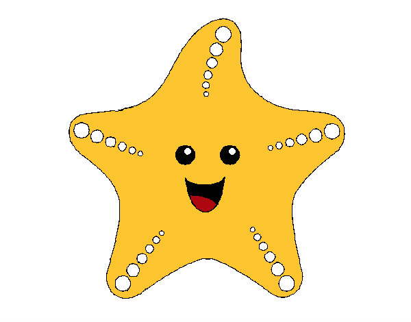 Dibujos De Una Estrella A Color