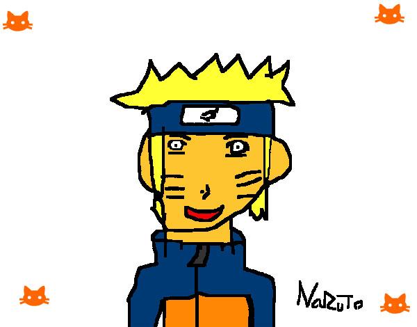 Dibujo de naruto uzumaki pintado por Karochan en Dibujosnet el
