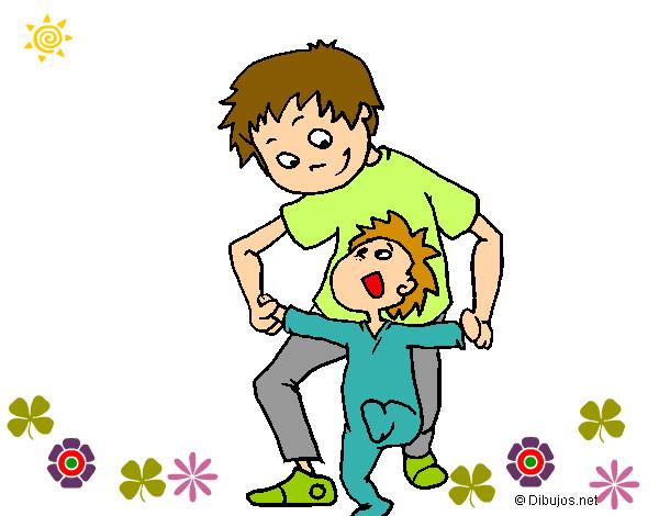 Dibujo de Aprendiendo a Caminar!!! pintado por Mariamm en Dibujos ...