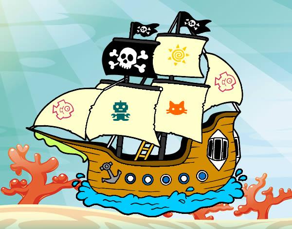 Dibujo de barco pez pintado por papo2310 en el d a 06 03 12 a las 03 53 40 imprime - Piratas infantiles imagenes ...