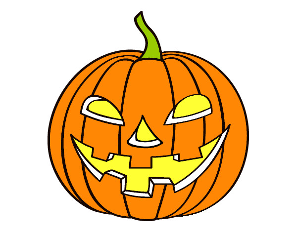 Dibujo calabaza - Calabazas halloween para imprimir ...