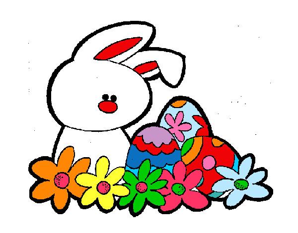 Dibujo de Conejito de pascua pintado por Maaquie en Dibujos.net el ...