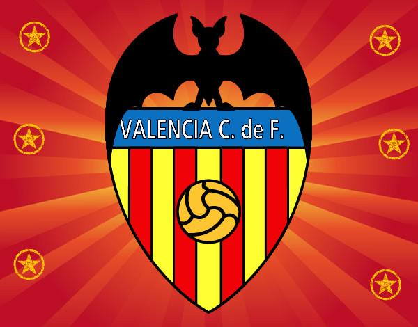 Dibujo de valencia club de f tbol pintado por aceropuro en - Campo de futbol del valencia ...