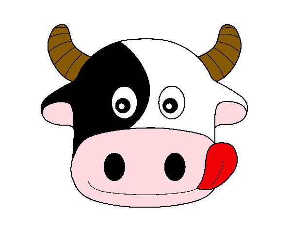 Dibujo de cow pintado por Lunazul en Dibujos.net el día 12-03-12 a ...
