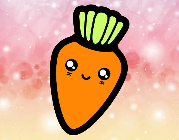 Dibujo De Zanahoria Pintado Por Ana0010 En Dibujosnet El Día 12 03