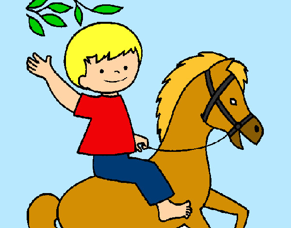 Dibujo de caballo pintado por lamorales en el - Dibujos infantiles para imprimir pintados ...