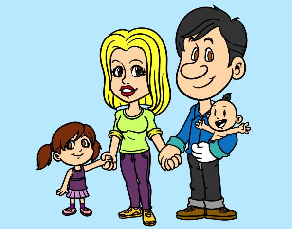 Dibujo de Mi Familia pintado por Copito942 en Dibujosnet el da