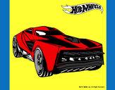 Dibujo Hot Wheels 12 pintado por tuna