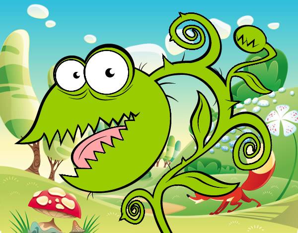 Dibujo de Plants vs Zombies pintado por Ririchio en Dibujos.net el ...