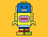Dibujo Robot alto pintado por gabriel444