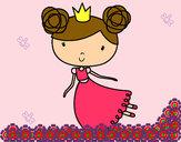 Dibujo Princesa volando pintado por Agoos13
