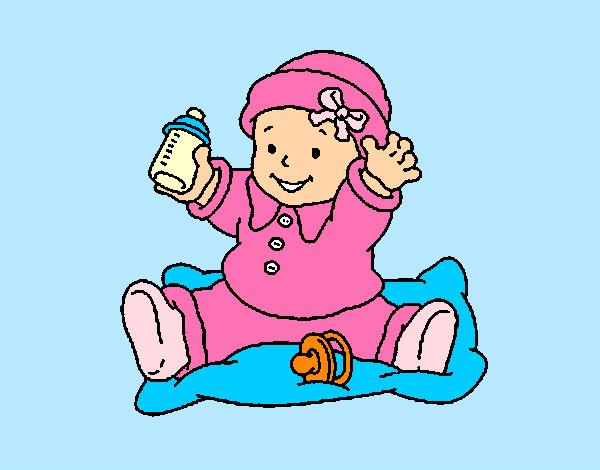 Dibujo de Bebé 3 pintado por 2392 en Dibujos.net el día 03 ...