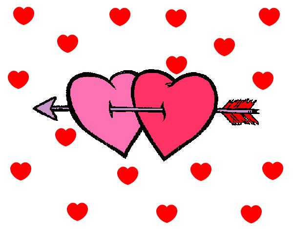 Dibujo de San Valentin pintado por Selenitah en Dibujos.net el día ...