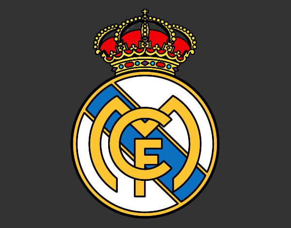 Dibujo de escudo del real madrid pintado por Alba1000 en Dibujos ...