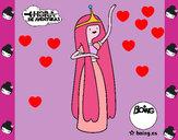 Dibujo La princesa Chicle pintado por Marceline