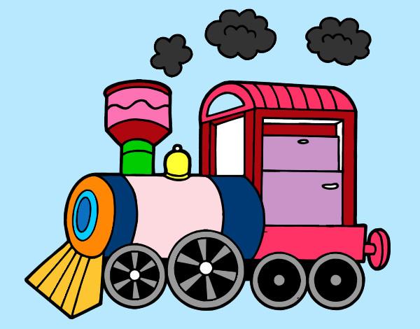 Dibujo de el trenesito pintado por jjjaaa en - Dibujos infantiles para imprimir pintados ...