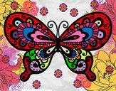 Dibujo Mariposa bonita pintado por tory