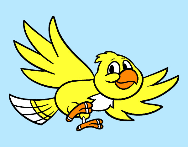 Dibujo de Pjaro volando pintado por Lamorales en Dibujosnet el