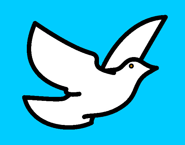 Dibujo de Paloma de la paz pintado por Lamorales en Dibujos.net el ...