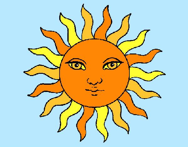 Dibujos Del Sol A Color: 10 Dibujos De Sol A Color