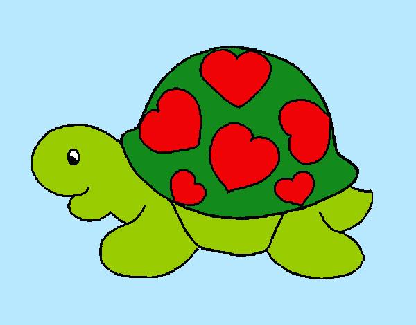 Dibujo de tortugaa pintado por selenitah en el for Dibujos infantiles pintados