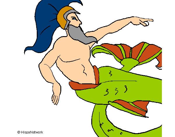 dios de los mares y señor de los caballos