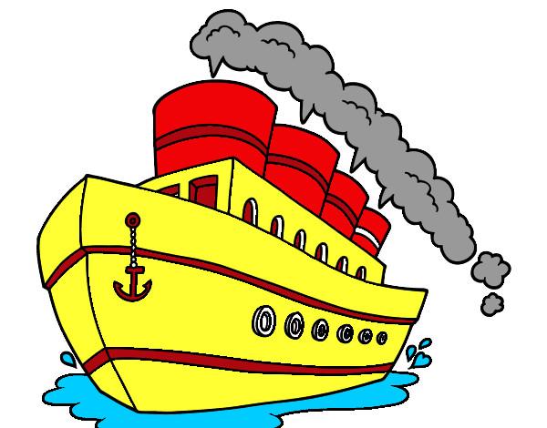 Dibujo de el titanic pintado por Farinchi en Dibujos.net ...