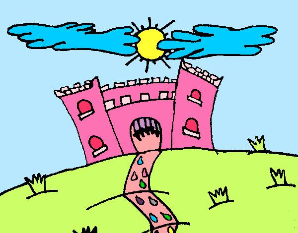 Dibujo De Castillo Maléfico Pintado Por 4567 En Dibujos