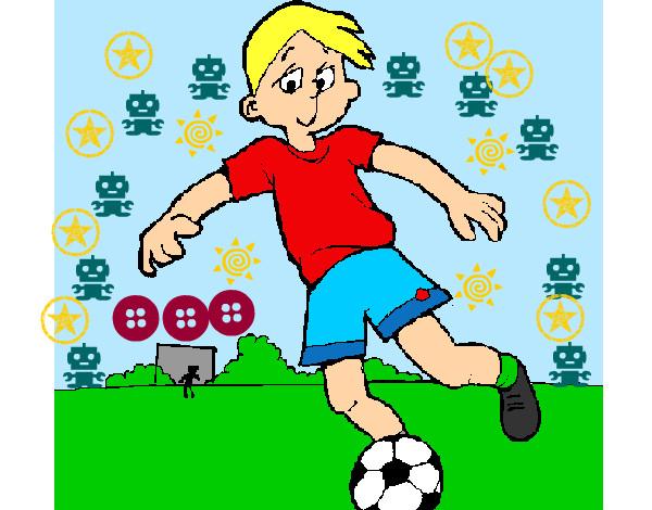 Dibujo De Futbol Pintado Por Maarta En Dibujos Net El Día: Dibujo De Futtbol Pintado Por Victor0987 En Dibujos.net El