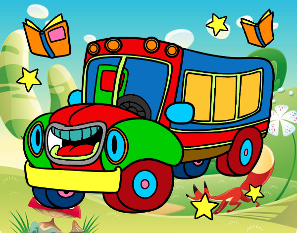 Dibujo de el camion de los animales pintado por Alvarogp06 en ...