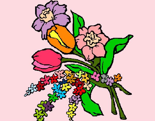 Dibujo De Las Flores Mas Bonitas Del Mundo Pintado Por Arocena En